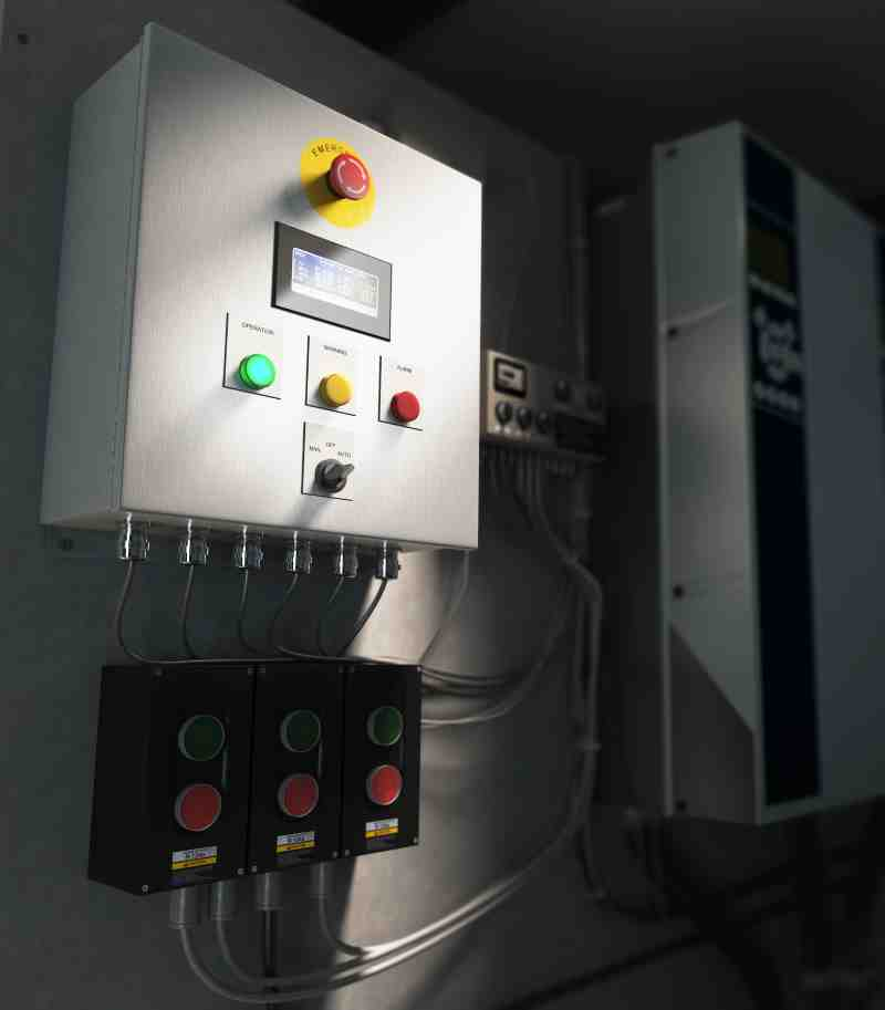 Colfax: Pump Monitoring for Intelligent Sea Water Cooling | Delta p