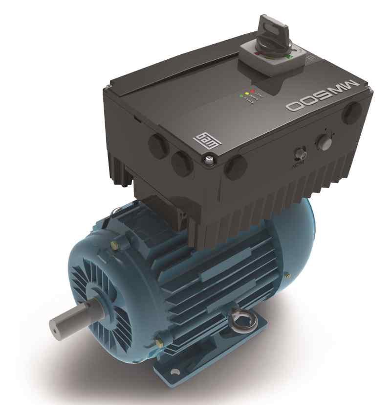 Weg New Frequency Inverter For Decentralised Motor And